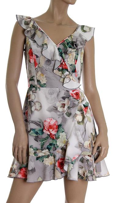 V 005 Платье CHITA софт серый пион