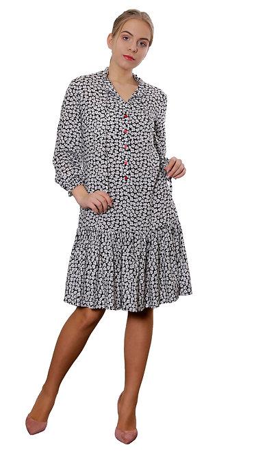 А 610 Платье ALSY мелкий цветок