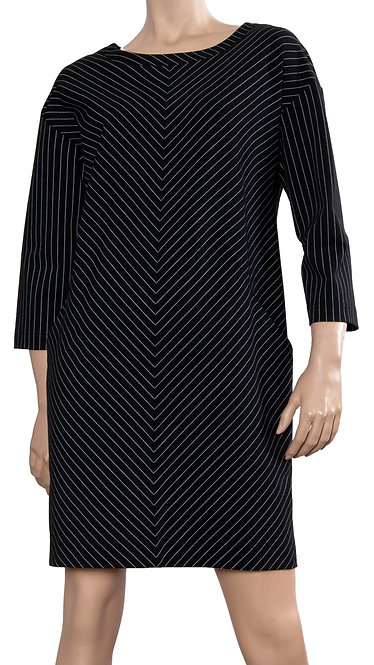 А 652 Платье KELLI черный