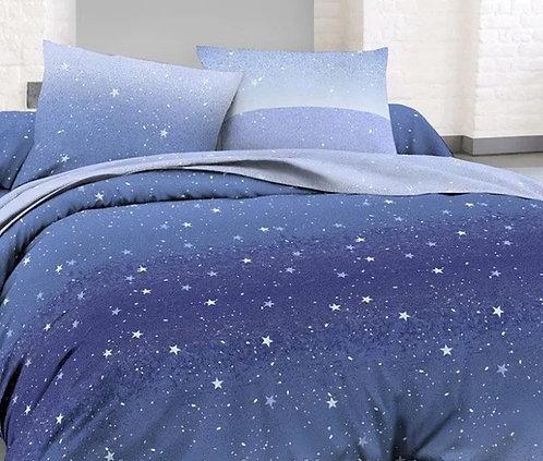 Комплект сатин звёздная пыль
