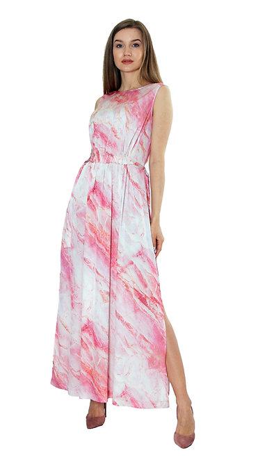 А 460 Платье MIR софт мрамор