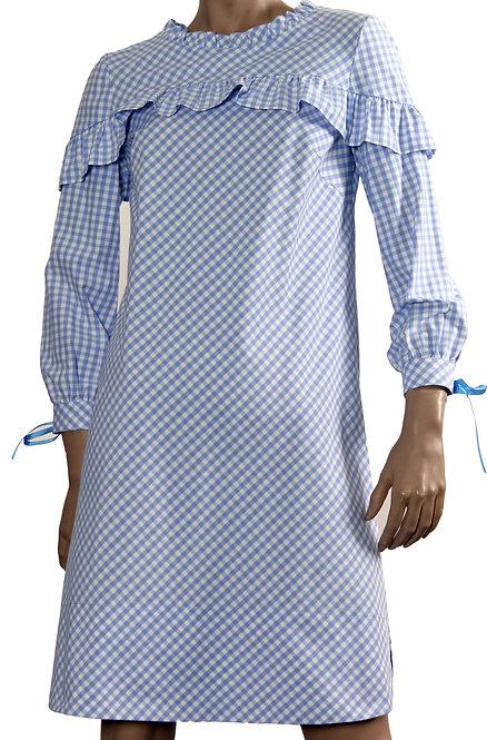 П 847 Платье NOTA мелкая кл