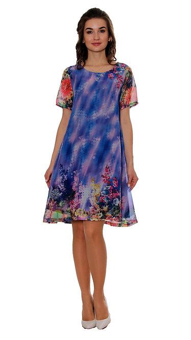 А 522 Платье CVET короткий