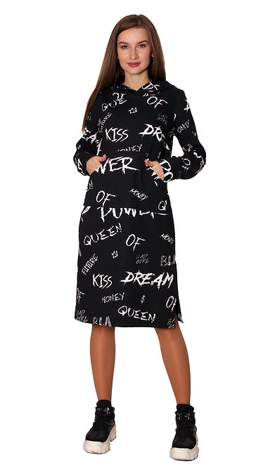 П 910 Платье SPORT буквы