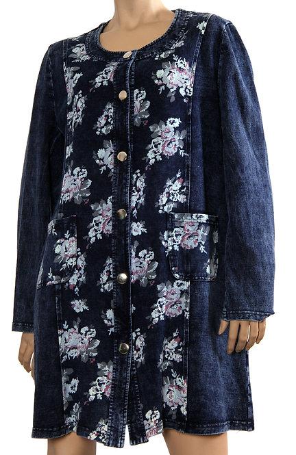 К 2980 Куртка Цветы