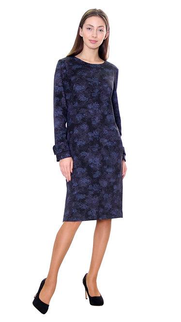 А 580 Платье RAM алекс роза синяя