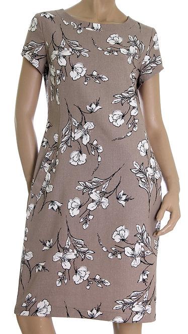 А 635 Платье EMMA капучино