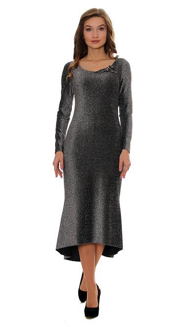 А 494 Платье OZA люрекс