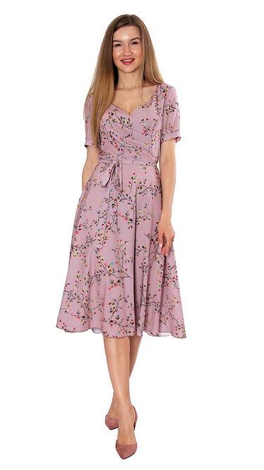 А 710 Платье TARO беж
