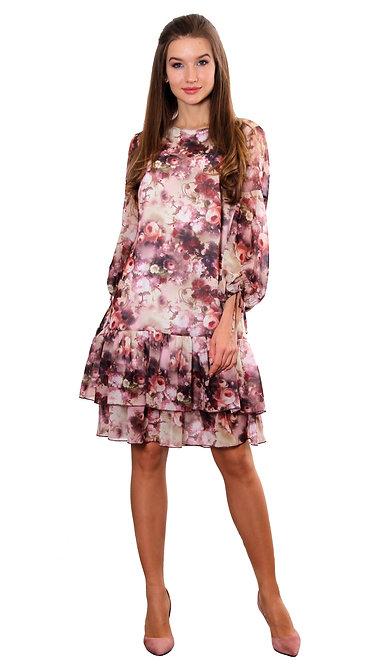 А 584 Платье Ardi вишня