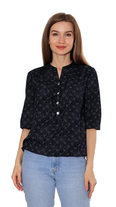 П 925 Блуза DAN кружок