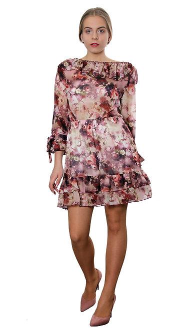 V 001 Платье LOLI вишня