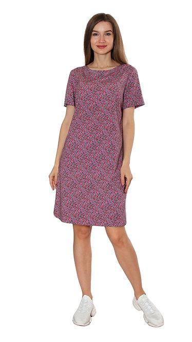 А 733 Платье ALE штапель