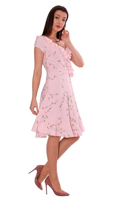 А 708 Платье MO розовое