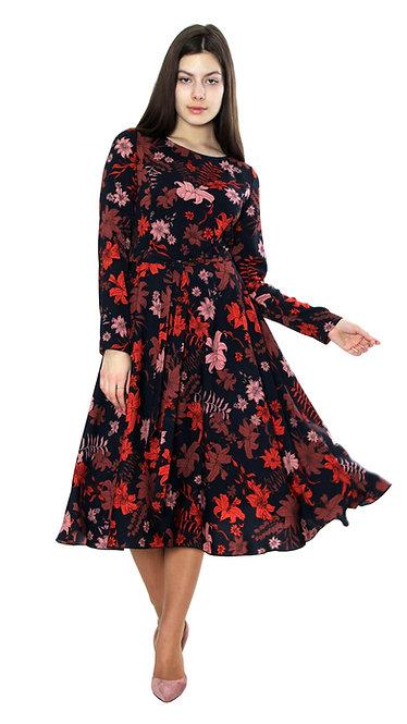 А 571/1 Платье Fler лист