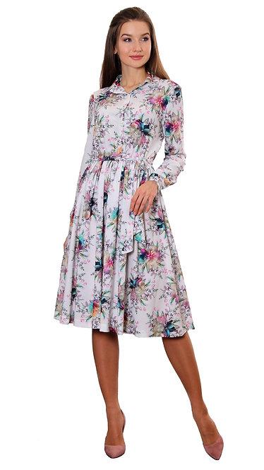 А 604 Платье MILI белое