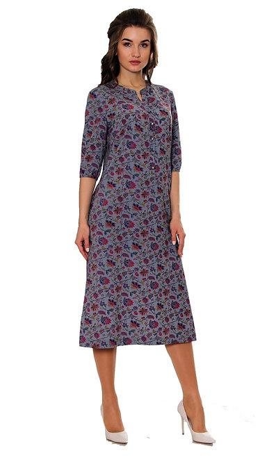 А 520/1 Платье LAETE lux штапель петриковка
