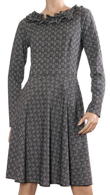 А 466 Платье START трикотаж плетенка