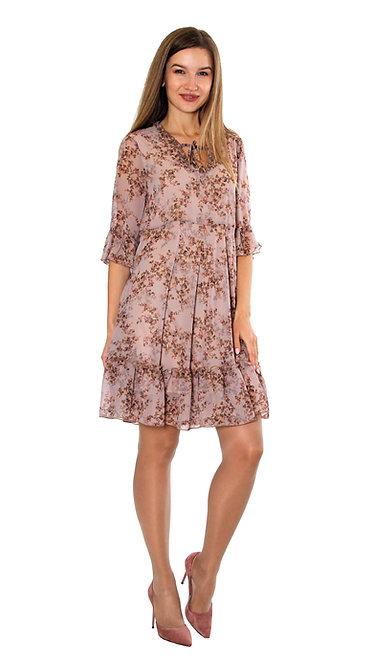 А 713 Платье KRIL розовое