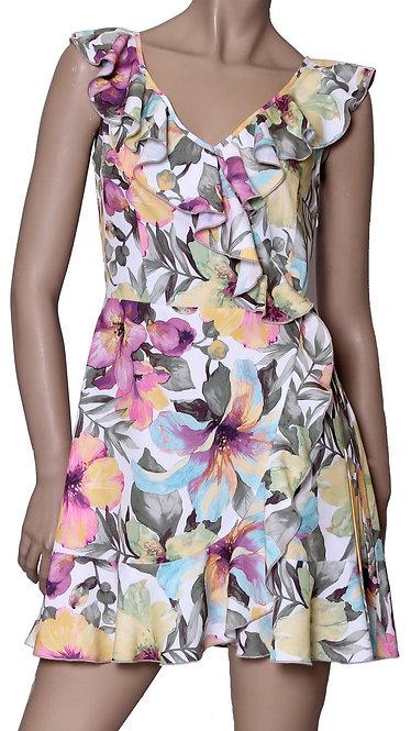 V 005 Платье CHITA софт розовый оранж