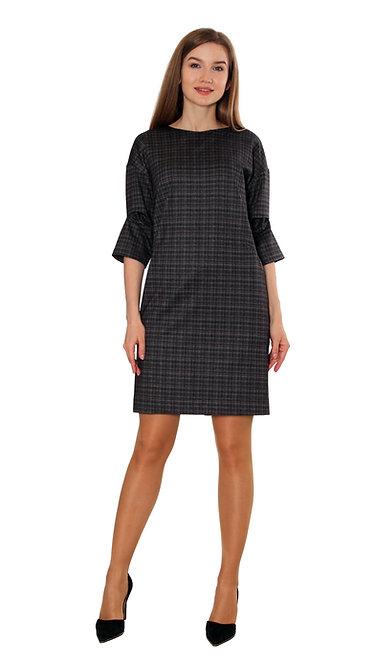 П 691 Платье КИТТИ коричневый