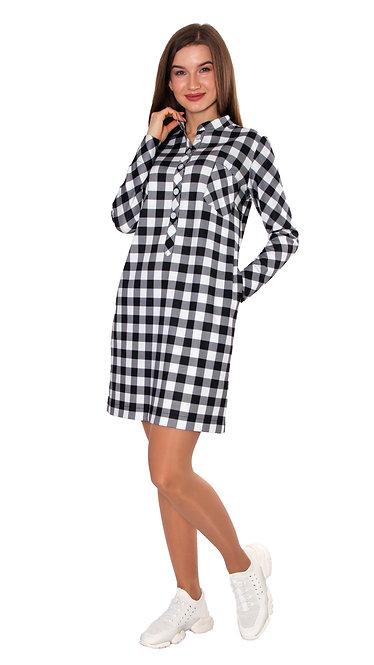 А 705 Платье - рубашка COST