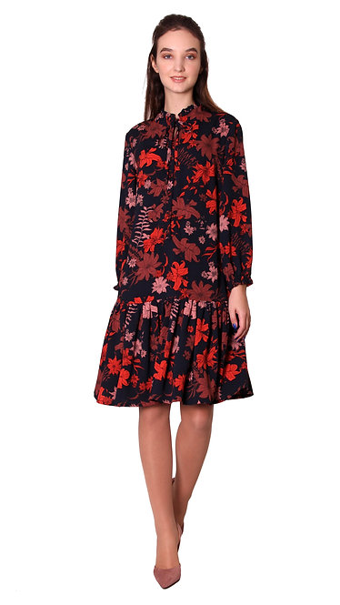 А 610 Платье ALSY цветок