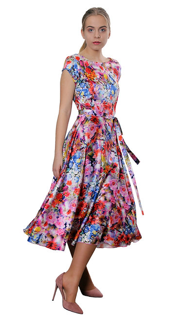 А 507 Платье TAR  цветок