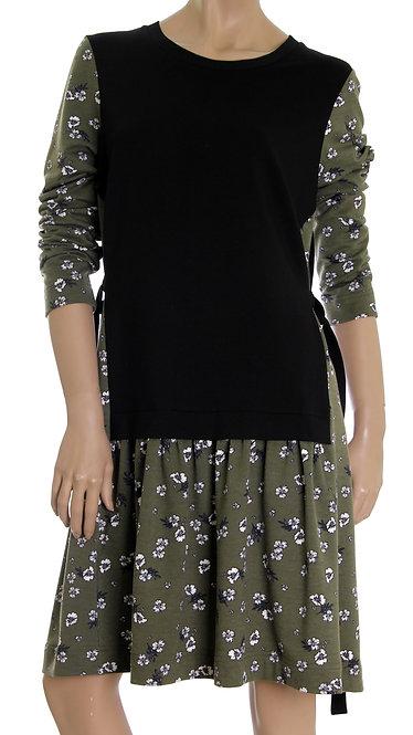 А 603 Платье Zip зеленый
