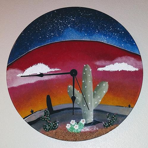 New Mexico Clock