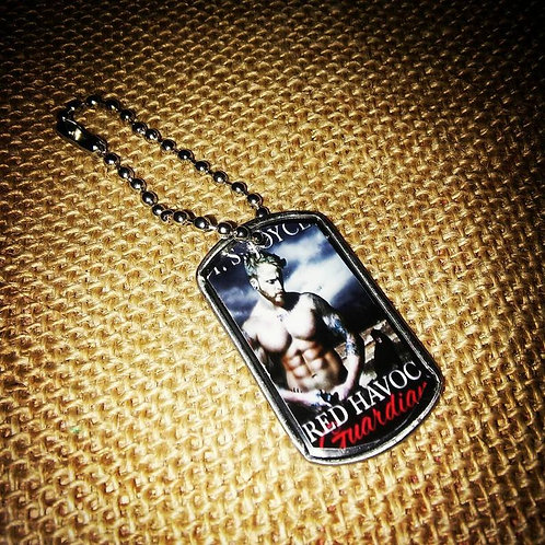 Dog Tags: Personalized Author Swag