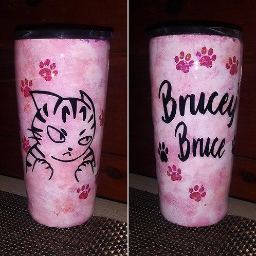 Brucey Bruce Tumbler