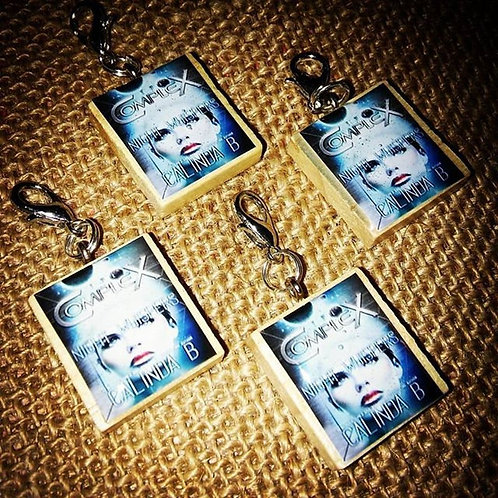 Author Charms: Personalized Author Swag