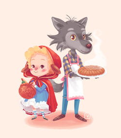 Miss Agneau & Mr Loup