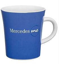 Кружка синяя Mercedes ME
