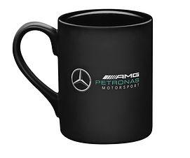 Кружка чёрная AMG Petronas
