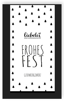 Teegruß Frohes Fest