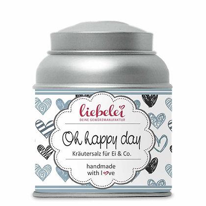 Oh happy day Kräutersalz für Ei & Co.
