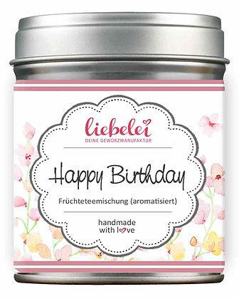Happy Birthday Früchteteemischung