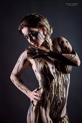  Photographer : Bassam Sabbagh Bodypaint : Yandel Artiste Modèle : Margo Ganassa