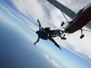 SKY DIVE FOR CHILDREN IN NEED & HELP THE HEROES 17.2.18