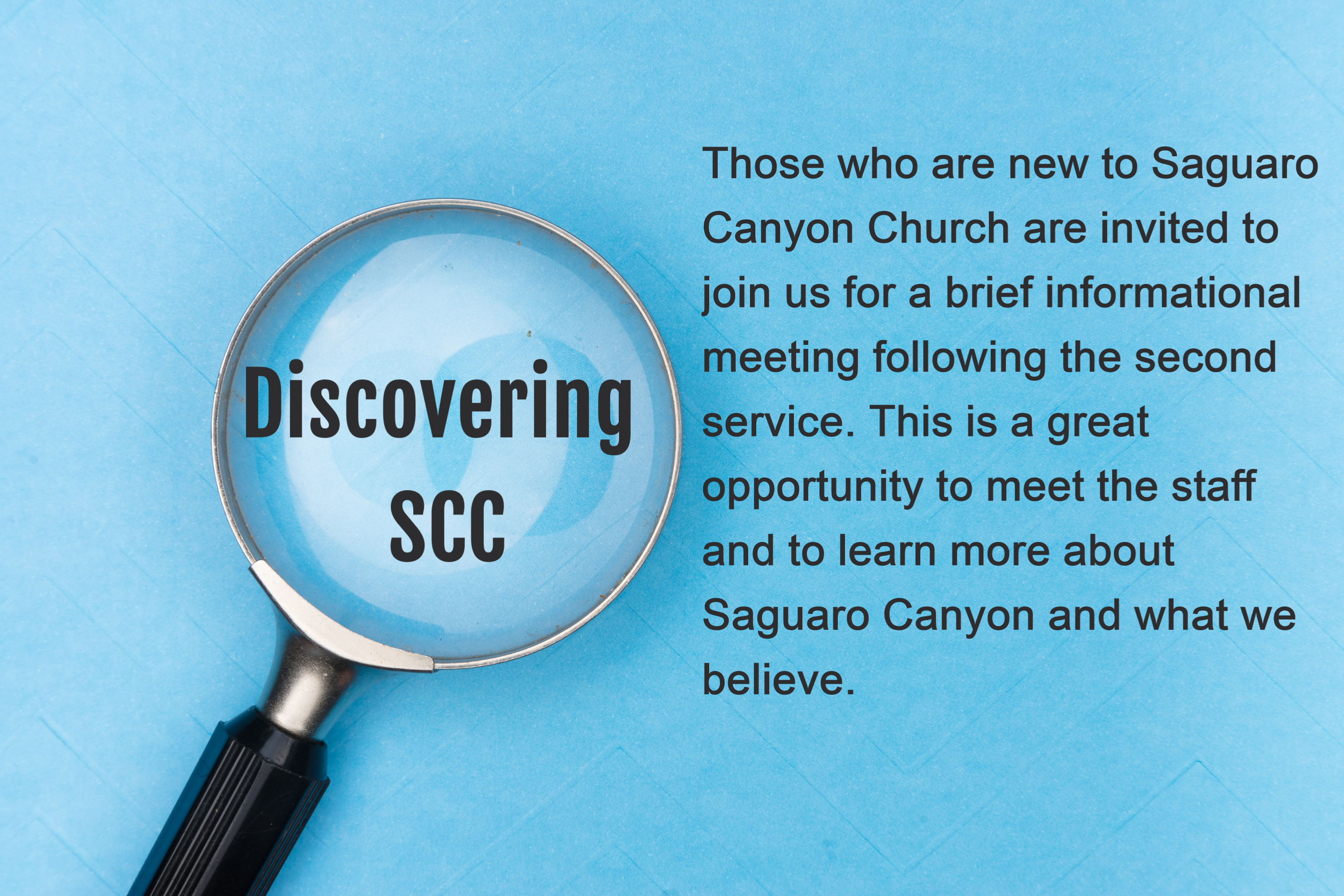 Discovering SCC