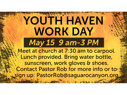 youth haven work day