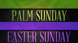 Palm Sunday Easter