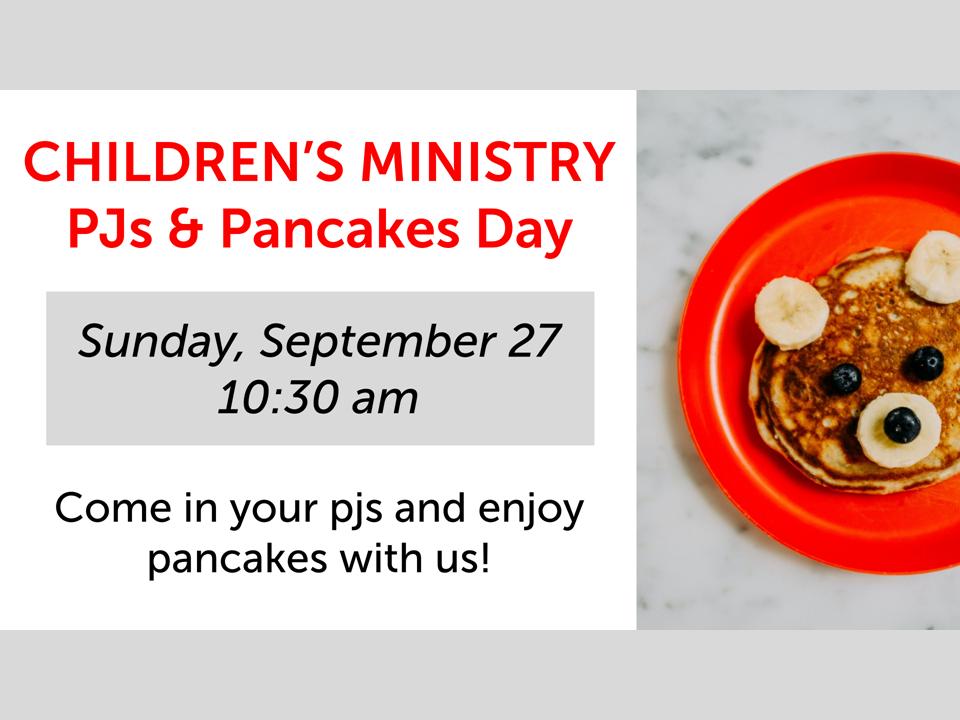 PJs and Pancakes website