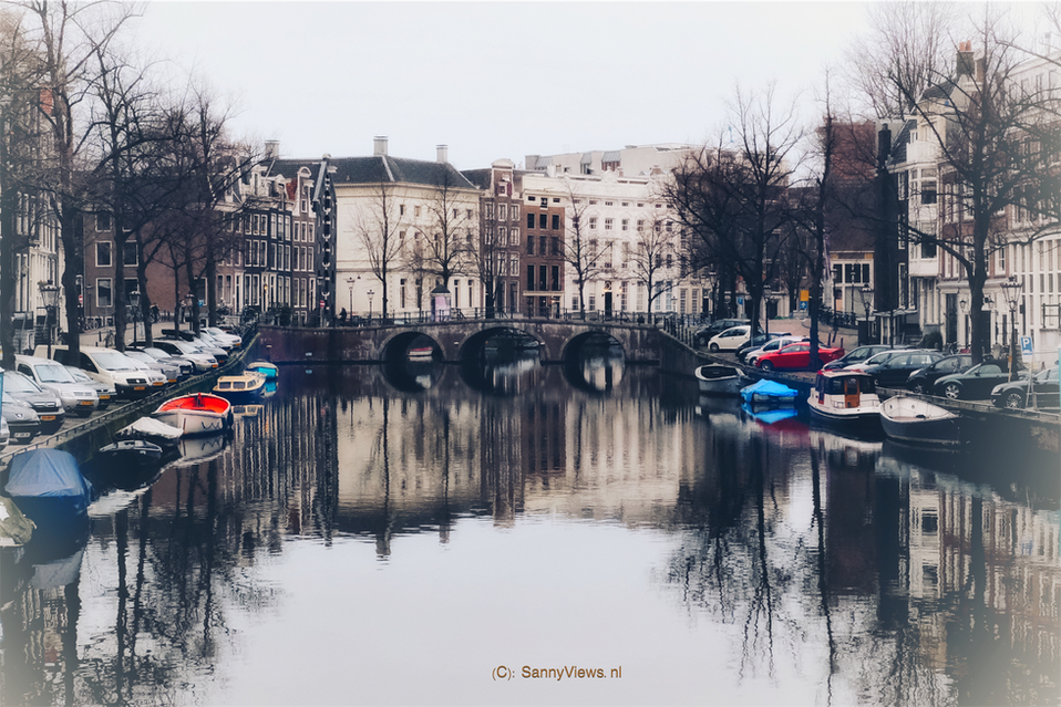 Amsterdam Canals Bright