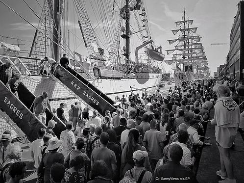 Sail Amsterdam 2015 B&W