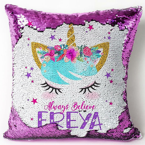 2-Way Sequin Cushion
