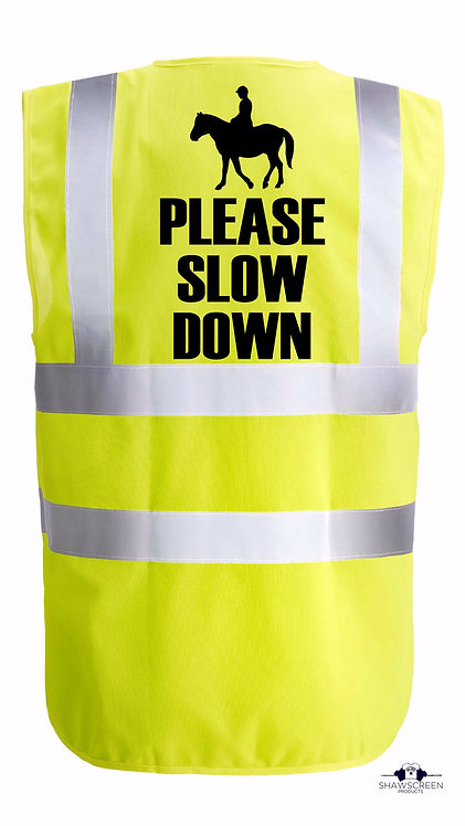 Horse Riding Hi-Viz Safety Vest