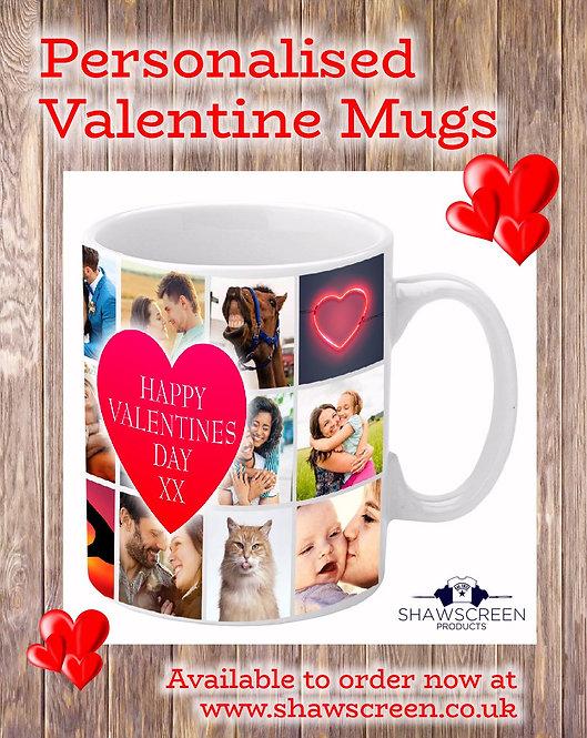 Personalised Valentine Mug